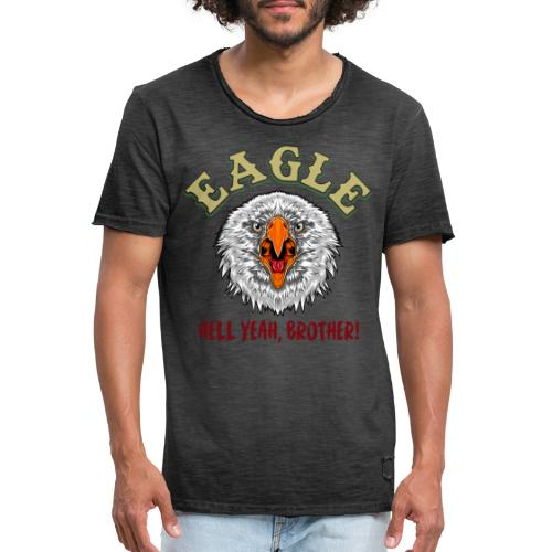 Hell Yeah brother! - Vintage-T-shirt herr