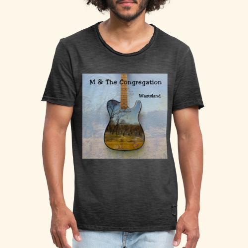 Wasteland - Männer Vintage T-Shirt