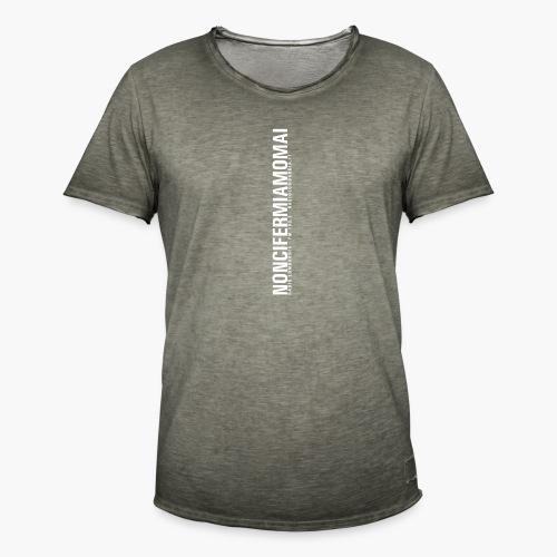 Uomo - Maglietta - noncifermiamomai - Maglietta vintage da uomo