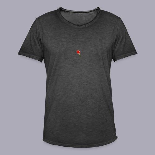 Tulip Logo Design - Men's Vintage T-Shirt