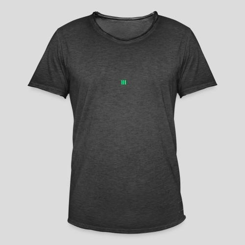 III Logo - Men's Vintage T-Shirt