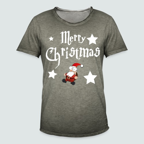 Merry Christmas - Ugly Christmas Sweater - Männer Vintage T-Shirt