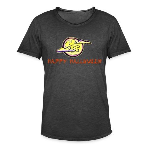 Halloween Moon - Men's Vintage T-Shirt
