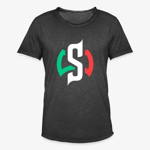 Sermattex90 Official Logo - Maglietta vintage da uomo