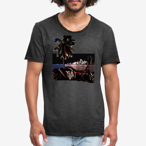 night mode - T-shirt vintage Homme