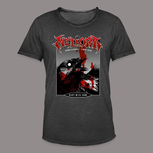 MELIORA REBEL - Camiseta vintage hombre