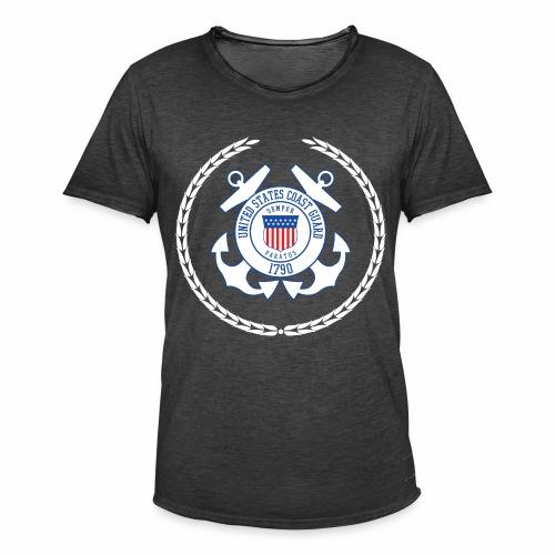 Coast Guard 1790 - Männer Vintage T-Shirt