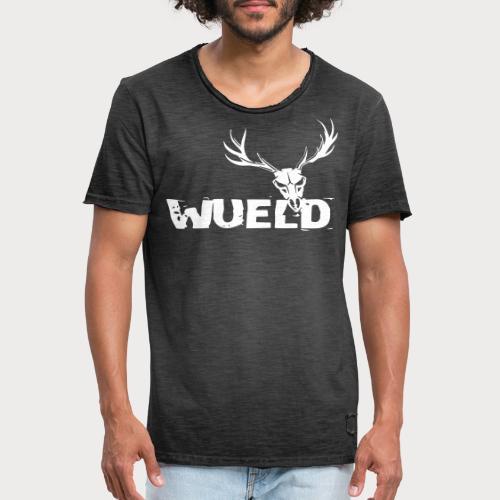 wueld - Männer Vintage T-Shirt