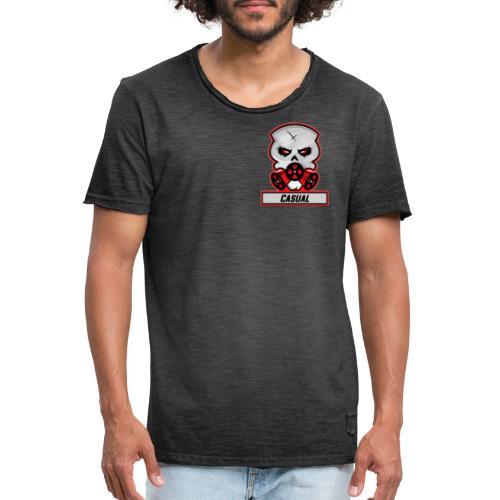 Casual-Gaming-Logo - Männer Vintage T-Shirt