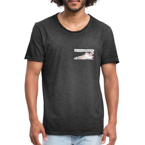 ÅTTATUSENSJUHUNDRANITTIOTRE... - Vintage-T-shirt herr