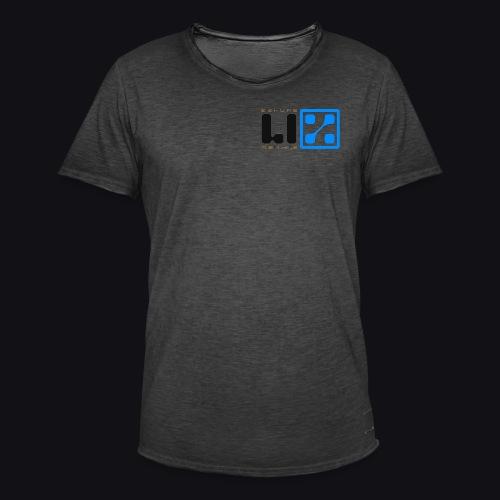 LIZ Before the Plague (Logo) - Maglietta vintage da uomo