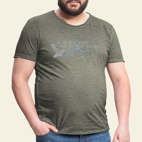 mjlner - Herre vintage T-shirt