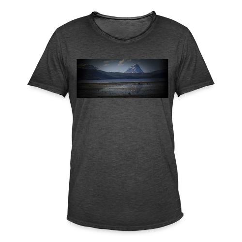 Sjøvegan 1 - Vintage-T-skjorte for menn