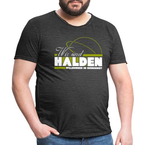 Wir Sind Halden - Männer Vintage T-Shirt