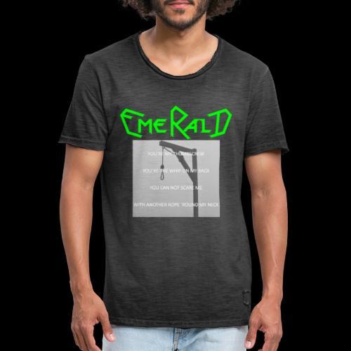 Emerald - Männer Vintage T-Shirt