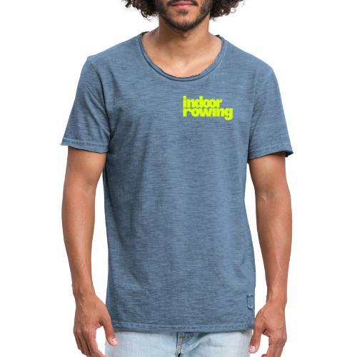 indoor rowing - Men's Vintage T-Shirt