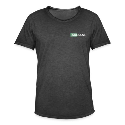 ARRIANI - Camiseta vintage hombre