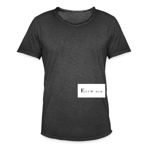 Elum wear - Vintage-T-skjorte for menn