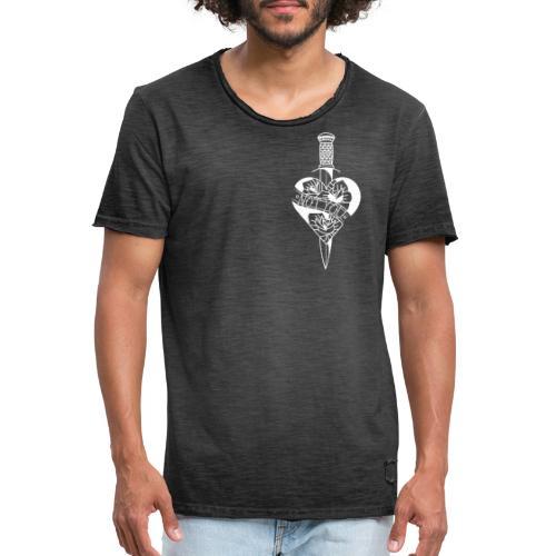 Not you white - Vintage-T-shirt herr