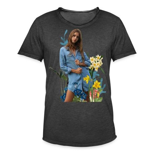 flowers Emily - Men's Vintage T-Shirt