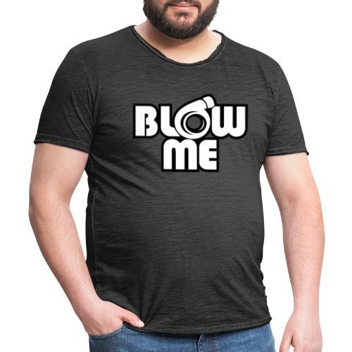 blow me - Vintage-T-shirt herr