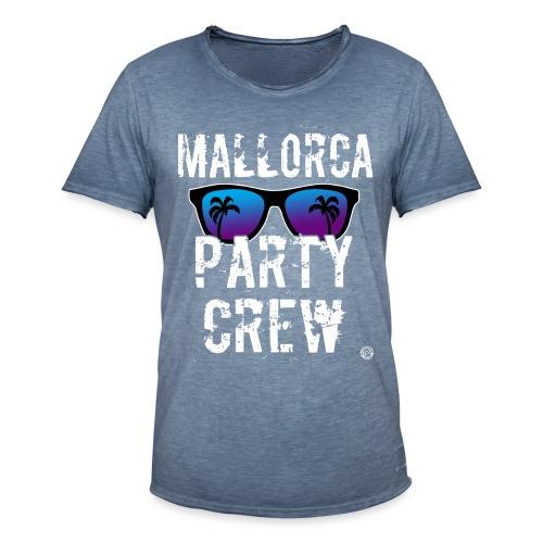MALLORCA PARTY CREW Shirt - Dames Heren Dames - Mannen Vintage T-shirt