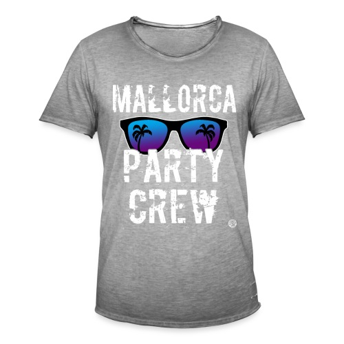 MALLORCA PARTY CREW Shirt - Damen Herren Frauen - Mannen Vintage T-shirt