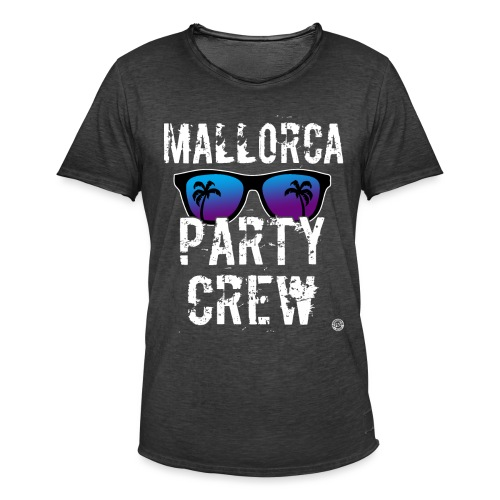 MALLORCA PARTY CREW Shirt - Damen Herren Frauen - Mannen Vintage T-shirt