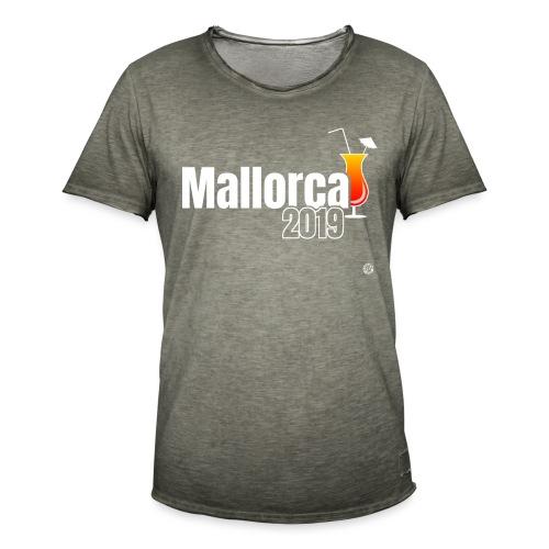 MALLE 2019 Cocktail Shirt - Mallorca Shirt - Mannen Vintage T-shirt