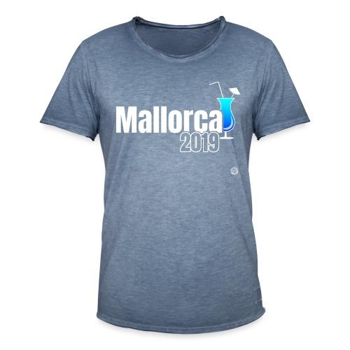 MALLORCA 2019 Cocktail Shirt - Malle Shirt - Mannen Vintage T-shirt