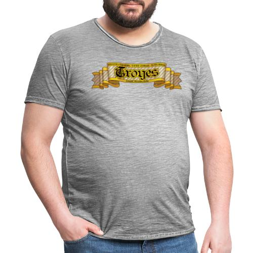 TROYES - T-shirt vintage Homme