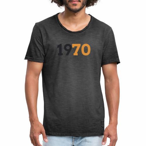 1970 - Vintage-T-shirt herr