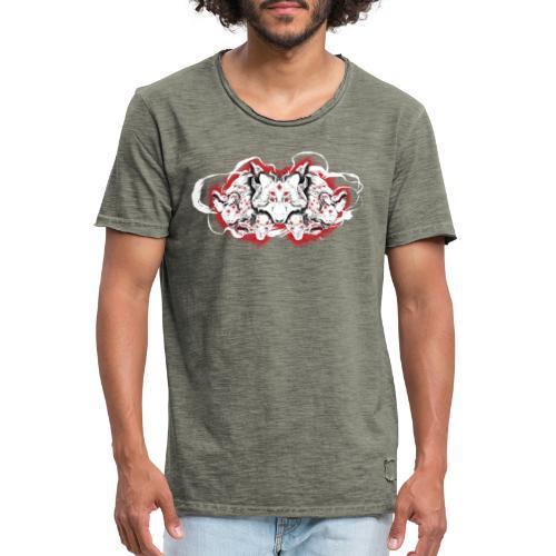 Arauc'Honaya - T-shirt vintage Homme