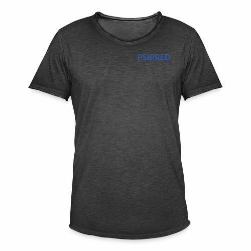 Logo in blue - Men's Vintage T-Shirt