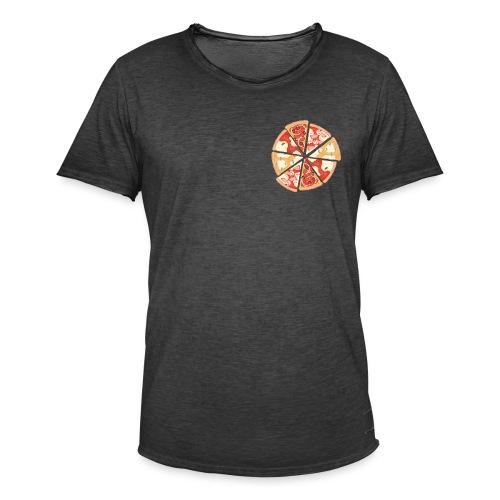 La pizza - Maglietta vintage da uomo