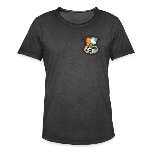 Emblème des 4 écoles - T-shirt vintage Homme