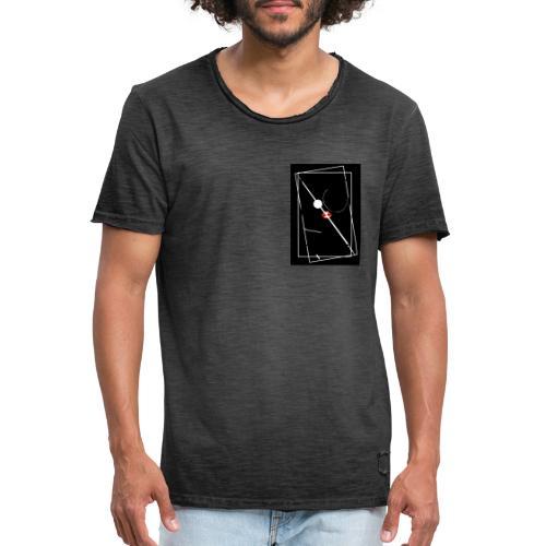 Kringel Dark - Männer Vintage T-Shirt
