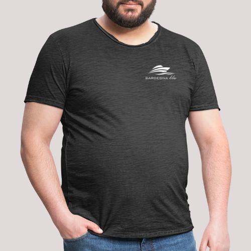 Logo weiss - Männer Vintage T-Shirt