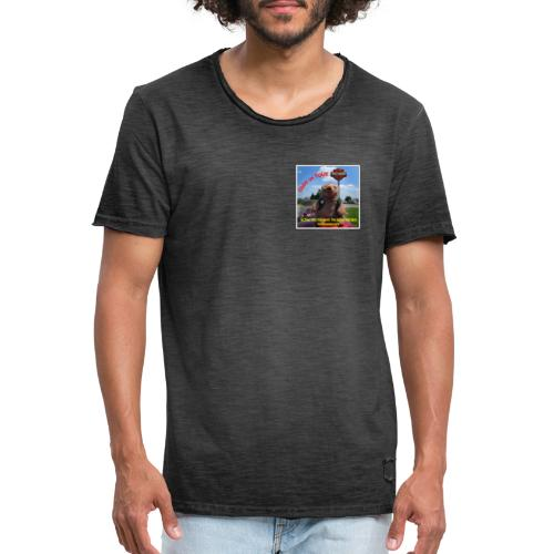 EDDY on the Road - Männer Vintage T-Shirt