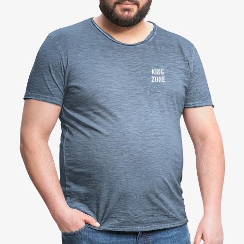 KING ZONE - Camiseta vintage hombre