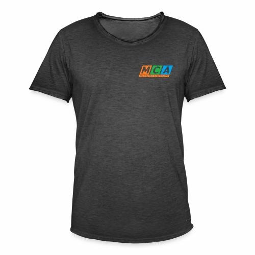 logo complet TRANSPARENT - T-shirt vintage Homme