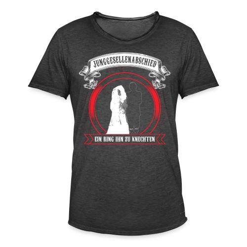 Help ME - Männer Vintage T-Shirt
