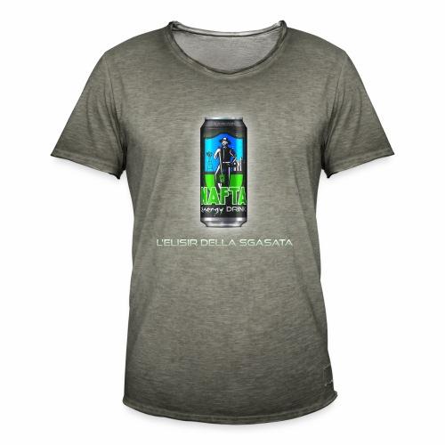 Nafta Energy Drink - Maglietta vintage da uomo