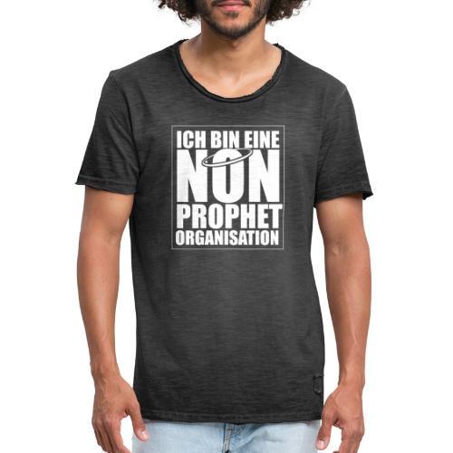 Non-Prophet Organisation (weiss) - Männer Vintage T-Shirt