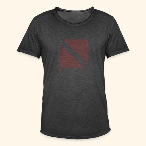 Dive Eat Sleep Repeat Taucher Flagge Design - Männer Vintage T-Shirt