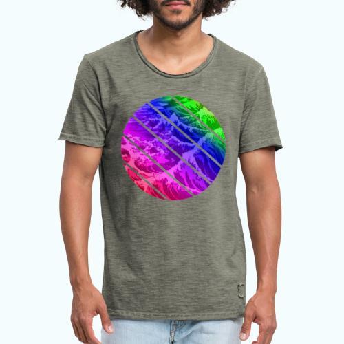 Regenbogen Welle - Men's Vintage T-Shirt