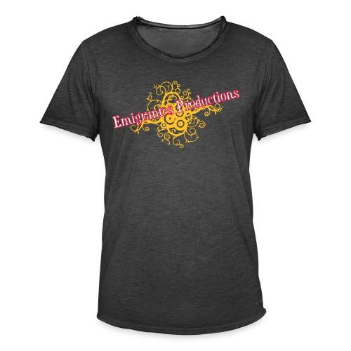 Emigrantes Productions logo SVG 3 couleurs - T-shirt vintage Homme