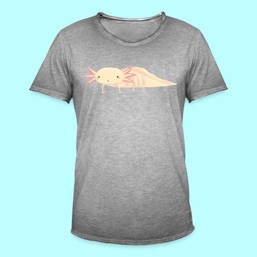 Axolotl - Männer Vintage T-Shirt