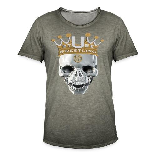 skull-krone - Männer Vintage T-Shirt