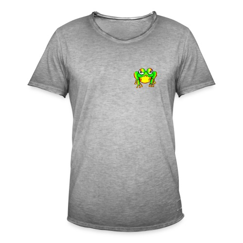 Angry Frog - T-shirt vintage Homme